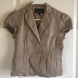 BCBG MaxAzria Tan Casual Jacket